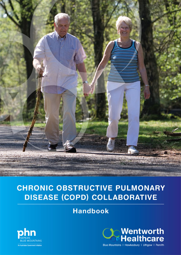 COPD Collaborative handbook cover image
